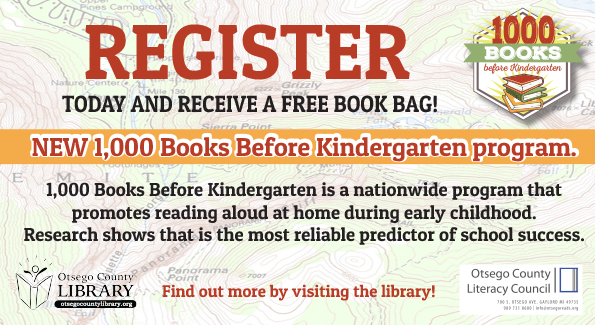 Register 1000 Books