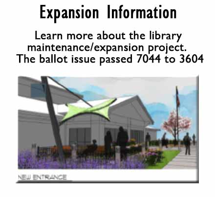Library Expansion Information